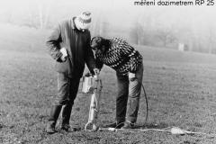 měření dozimetrem