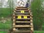 Pálení uranové věže 30.4.2015